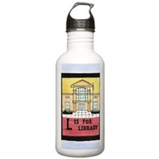 LisforLibraryJournal Water Bottle