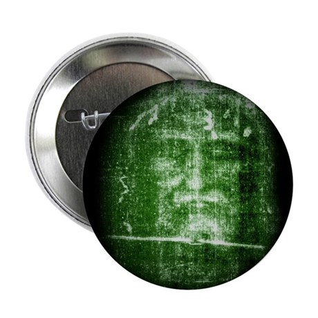 "Jesus - Shroud of Turin 2.25"" Button (100 pack)"