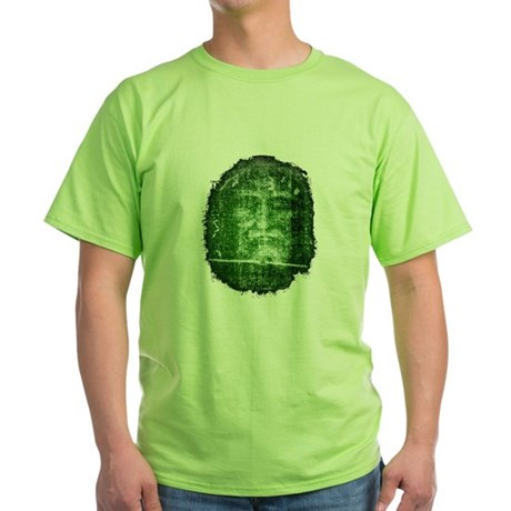 Jesus - Shroud of Turin Green T-Shirt