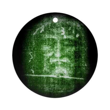 Jesus - Shroud of Turin Ornament (Round)