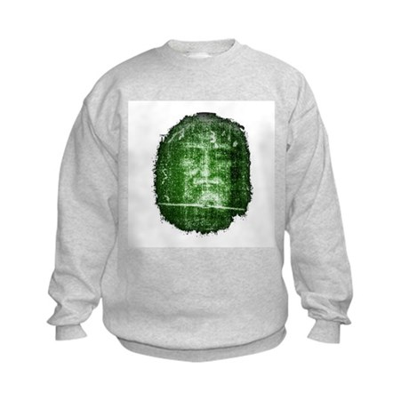 Jesus - Shroud of Turin Kids Sweatshirt