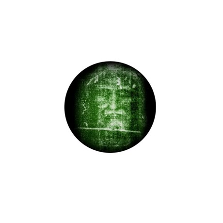 Jesus - Shroud of Turin Mini Button (100 pack)