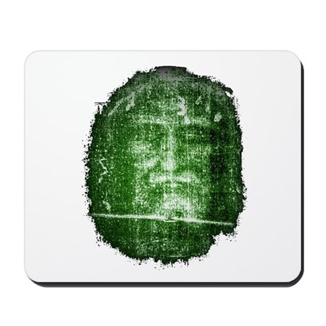 Jesus - Shroud of Turin Mousepad