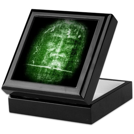Jesus - Shroud of Turin Keepsake Box