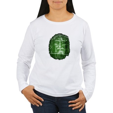 Jesus - Shroud of Turin Women's Long Sleeve T-Shir