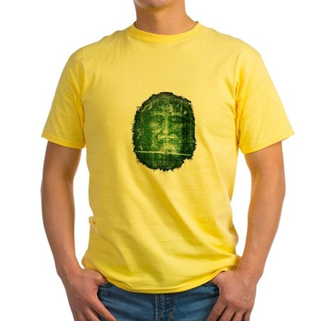 Jesus - Shroud of Turin Yellow T-Shirt