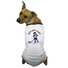 hockey-light2 Dog T-Shirt