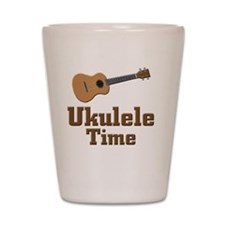 Ukulele Time Shot Glass