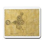 Celtic Spiral Manuscript Mousepad
