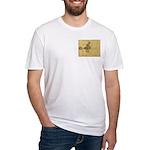 Celtic Spiral Manuscript Fitted T-Shirt