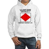 USCG Recruit Company F176<BR> Jumper Hoody 2