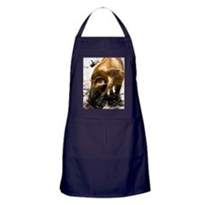 (4) Pig Profile  1966 Apron (dark)