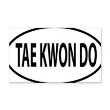 TKD Rectangle Car Magnet