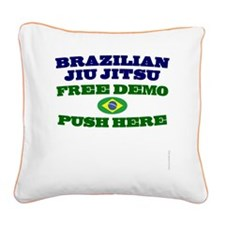 FreeDemo-bjj Square Canvas Pillow