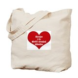 Greatest Valentine: Kiersten Tote Bag
