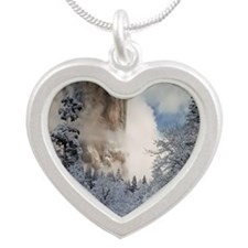Yos5 Silver Heart Necklace