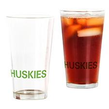 livehusky2 Drinking Glass