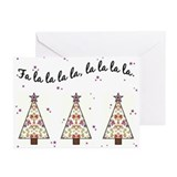 Fa la Greeting Cards (20 Pack)