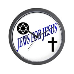JEWS FOR JESUS Wall Clock
