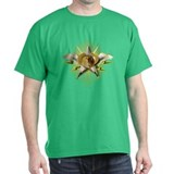 Golden Emblem of Wealth T-Shirt
