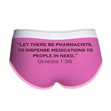 Pharmicists_Genesis_RK2010_21x14 Women's Boy Brief