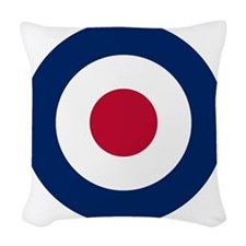 RAF Roundel Woven Throw Pillow