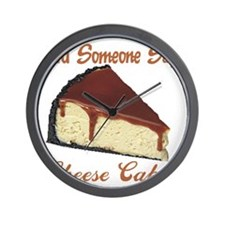 cheese cake Wall Clock