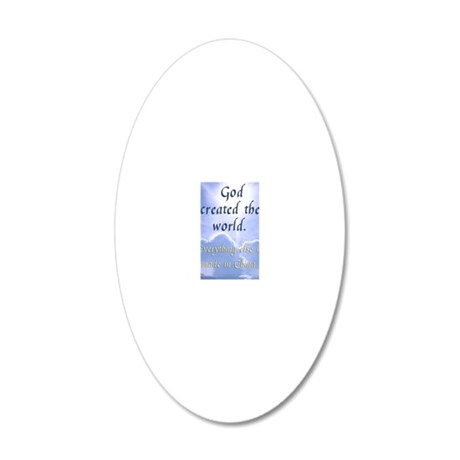 madeinchina_iphone1b 20x12 Oval Wall Decal