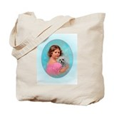 1903 Child & Maltese ~ Tote Bag