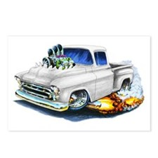1957 Chevy Pickup White Postcards (Package of 8)