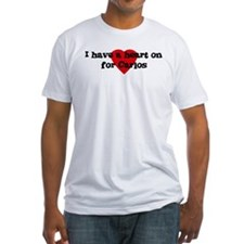 Heart on for Carlos Shirt