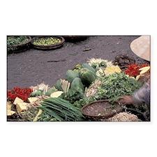 Asia, Vietnam, Saigon. Vegetab Decal