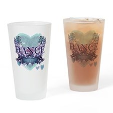dance forever aqua copy Drinking Glass