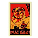 Pug Dog! Postcards #3 (Pack of 8)