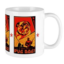 Obey the Pug Dog! Mug #3