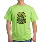 Montpelier Police Green T-Shirt
