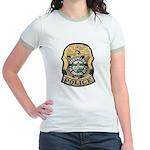 Montpelier Police Jr. Ringer T-Shirt