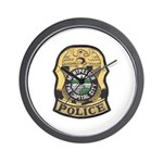 Montpelier Police Wall Clock