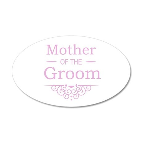 Mother of the Groom pink Wall Sticker
