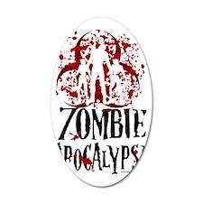 Zombie-Apocalypse Wall Decal
