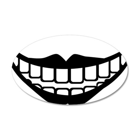 ugly_lol 35x21 Oval Wall Decal