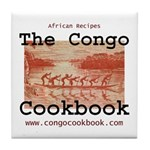 Congo Cookbook Tile Coaster