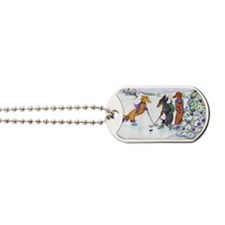 hockey5x7 Dog Tags