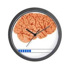 Brain Loading b Wall Clock