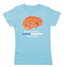 Brain Loading b Girl's Tee