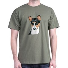 Basenji Dog Dark Colored T-Shirt
