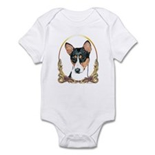 Basenji Christmas/Holiday Infant Bodysuit