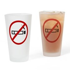 smoking Drinking Glass