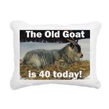goat40ys Rectangular Canvas Pillow