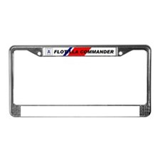 Cute Aux License Plate Frame